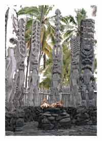 Hawaiian Tiki Gods