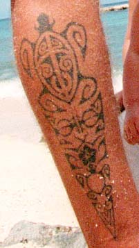 Hawaiian Tribal Tattoos on Tribal Hawaiian Tattoo Design